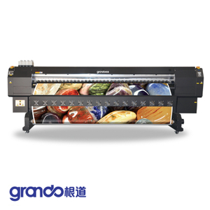 3.2m Eco Solvent Printer With Double DX5 Print Heads