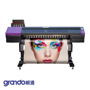 1.6m High speed multilayer industrial printer with four G5i print Heads