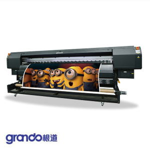 3.2m Solvent Printer With Four Konica 512i Print Heads